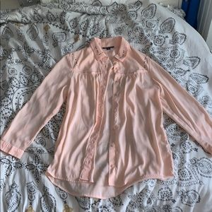 American Eagle Outfitters Tops - Satin American Eagle Shirt